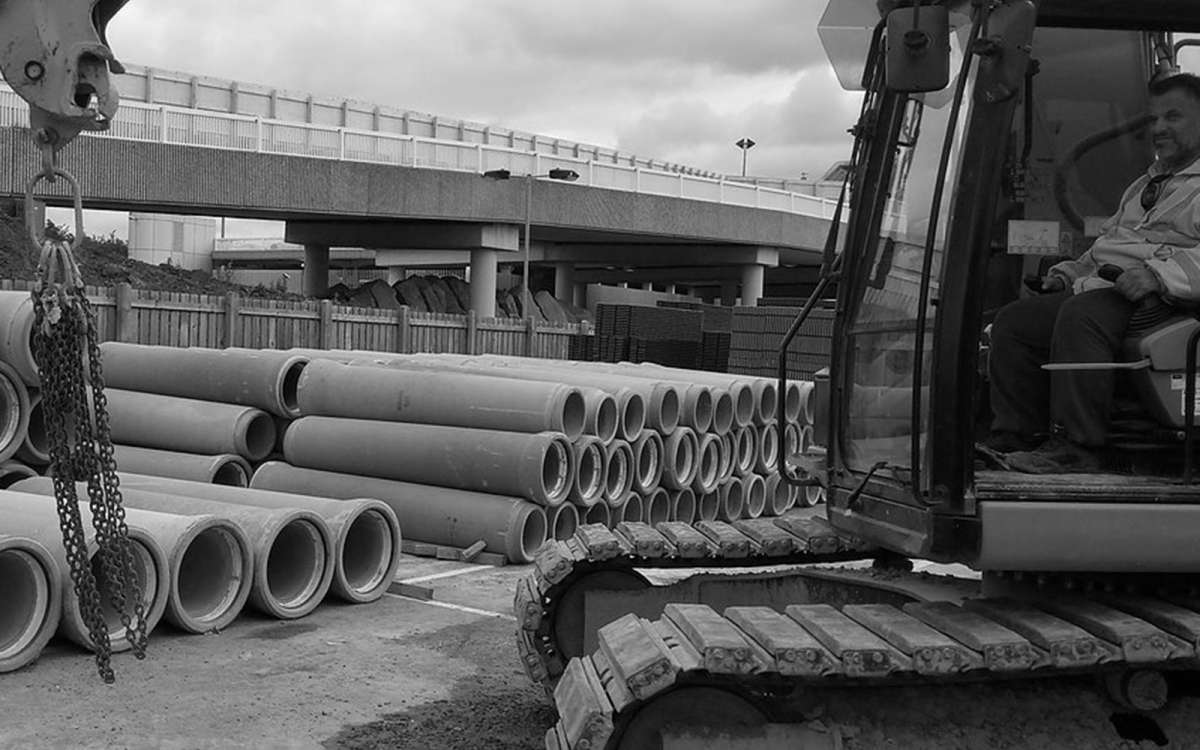Manchester Airport Construction